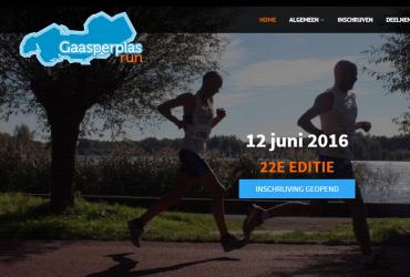 NIEUW! Website en logo Gaasperplasrun