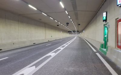 *BREAKING NEWS* Extra afstand door de tunnel